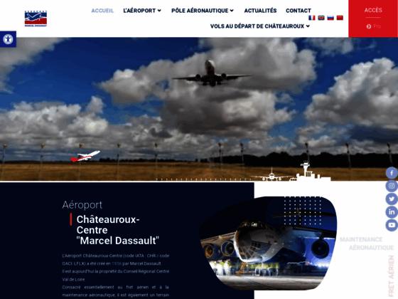 Photo image Bienvenue sur l'Aéroport Châteauroux Centre