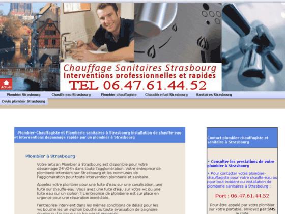 Détails : Plombier Strasbourg