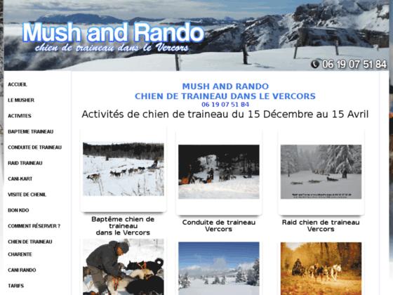 Détails : Chien de traineau : sport et loisir à Vassieux en Vercors