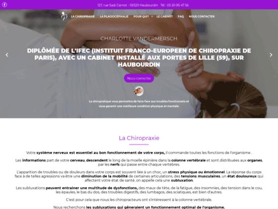 Détails : Chiropraticienne Haubourdin