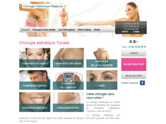 Détails : Chirurgie Esthétique Tunis