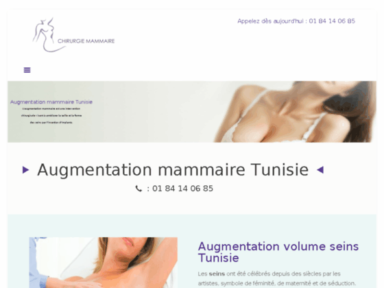 Tarifs chirurgie mammaire Tunisie