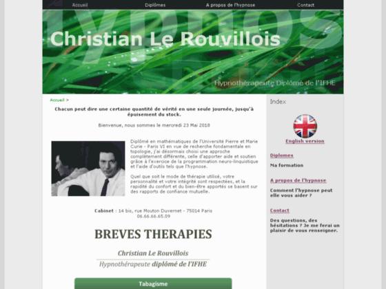 Photo image Christian Le Rouvillois - Hypnose