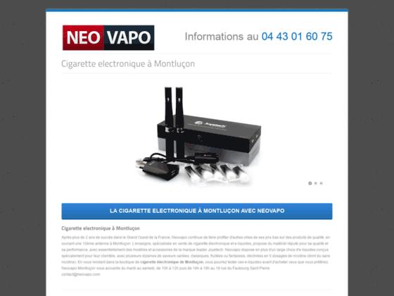 Détails : Les cigarettes électroniques à Montluçon!