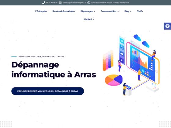 image du site https://www.clicinformatique62.fr