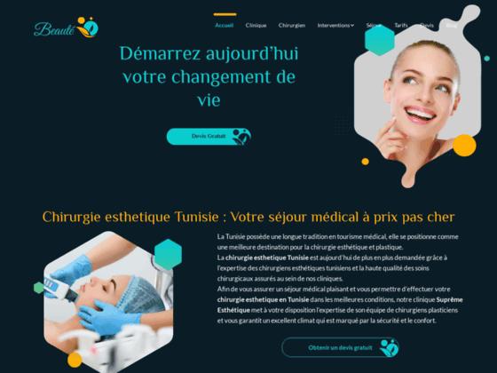 Détails : Refaire une beauté en Tunisie : Clinique Pasteur