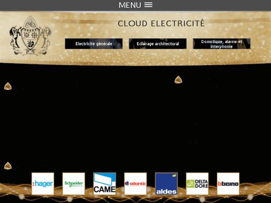 image du site https://www.cloud-electricite.fr/