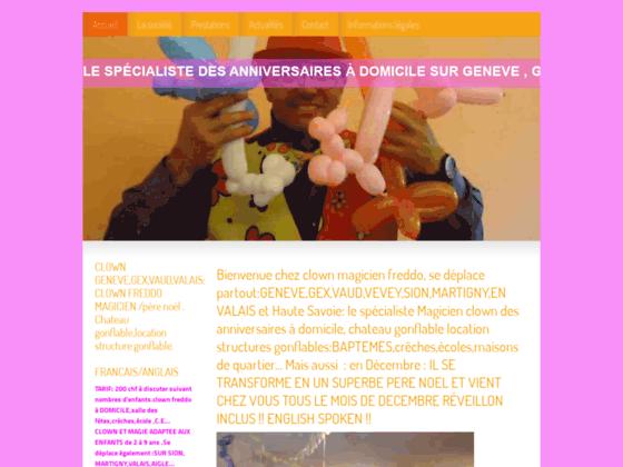 Détails : Clown à domicile à Genève, Vaud