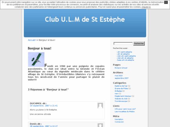 Photo image Club U.L.M de St Estèphe