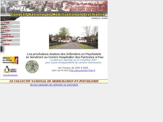 Photo image Collectif National de Mobilisation en Psychiatrie (CNMP)