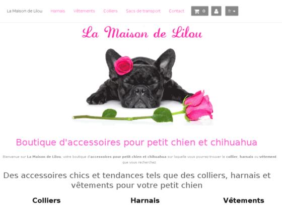 Détails : Colliers pour chien, harnais strass pour petit chien