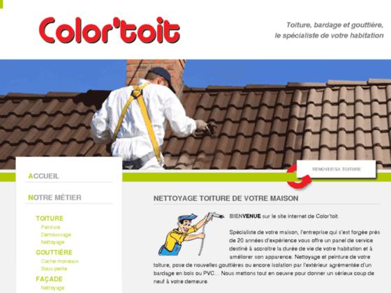 Détails : Nettoyez votre toiture à Rouen avec Color'toit