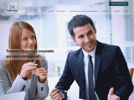 image du site http://comptelio.be