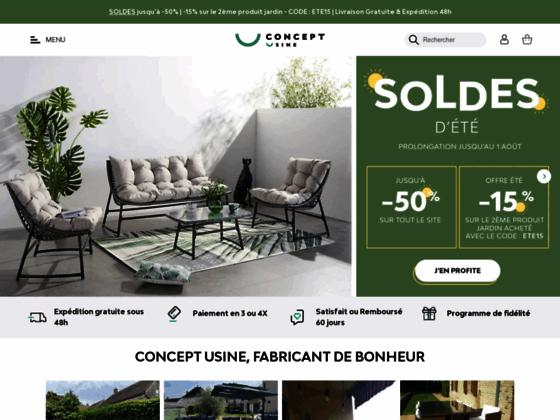 Détails : Boutique en ligne de vente de meubles