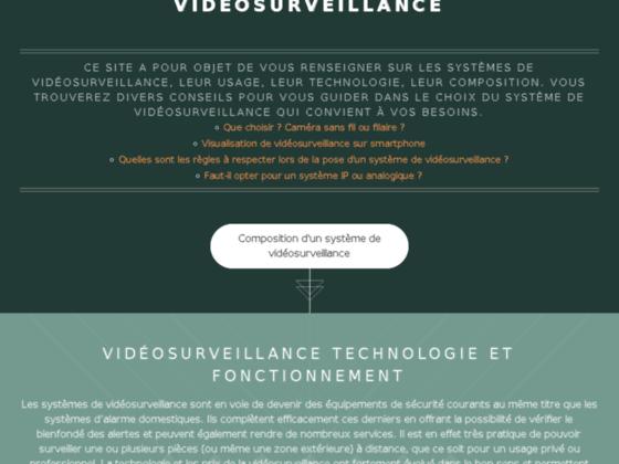 Quelles sont les meilleures solutions de vidéo surveillance?