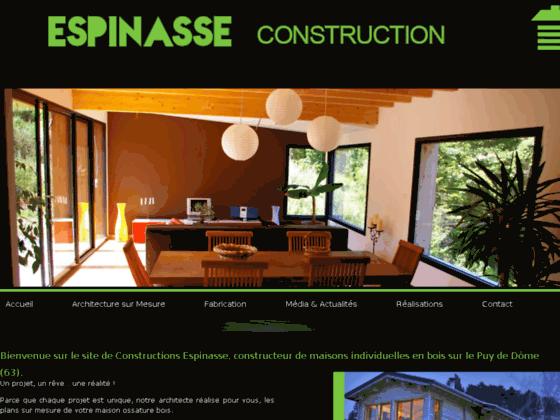 Détails : Constructions Espinasse : Réhabilitation et extension de la maison (63)