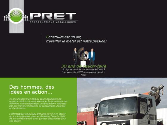 Détails : Sarl Construction PRET, constructions métalliques