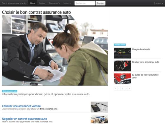 Détails : Comprendre pour bien choisir et gérer son contrat assurance auto