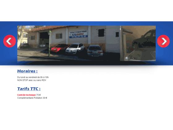 Détails : Autosecuritas : Contrôle technique Eyguières