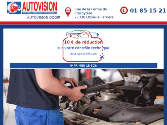 Détails : Entretenez votre véhicule avec le centre de contrôle technique Autovision