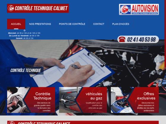 Détails : Contrôle Technique CALMET, Centre Autovision