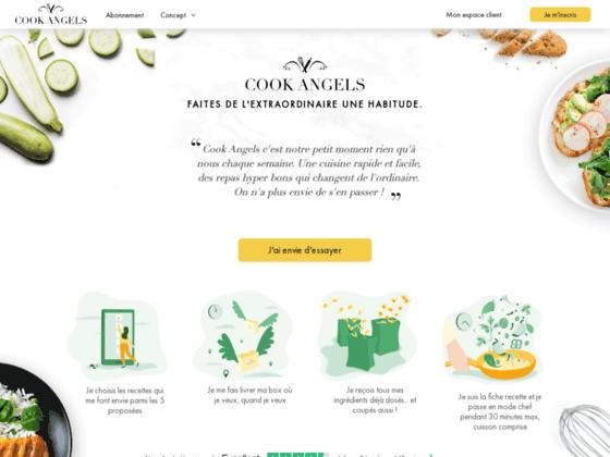 image du site https://www.cookangels.com/