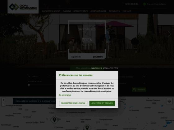 Détails : Coop de Construction - Immobilier neuf à Rennes