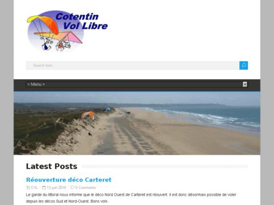 Photo image Bienvenue sur le site Cotentin Vol Libre