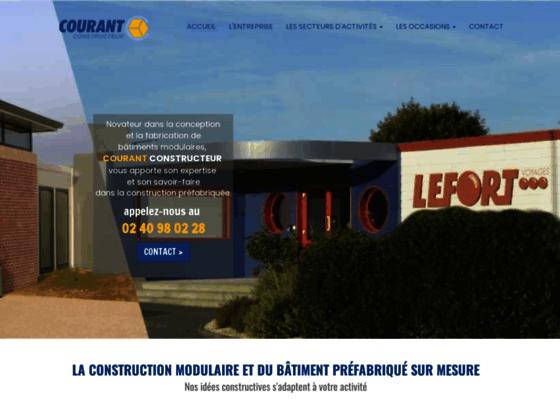 Détails : Courant-Constructeur: construction modulaire