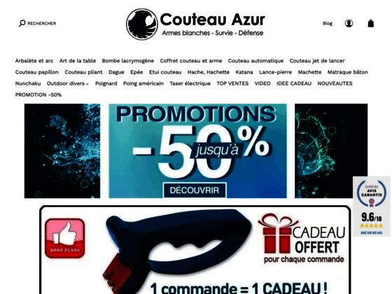 Détails : Couteau azur est spécialiste en import-export de la vente de couteaux