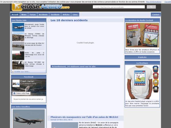 Photo image Le Site de Crash Aérien - Accueil du Forum