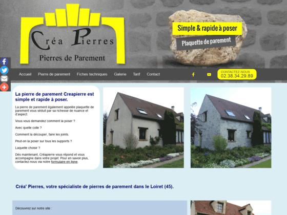 image du site http://www.creapierre.fr