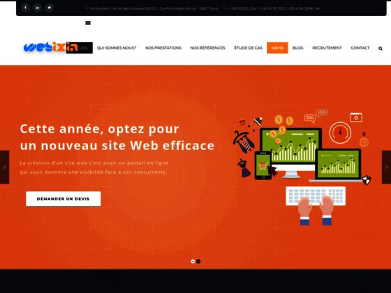 Détails : creation site web dynamique