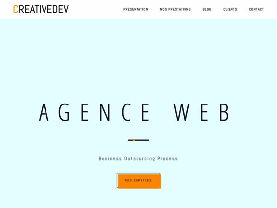 Détails : Sous-traitance création site web