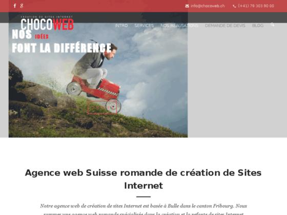Détails : Agence web intégrale - Suisse