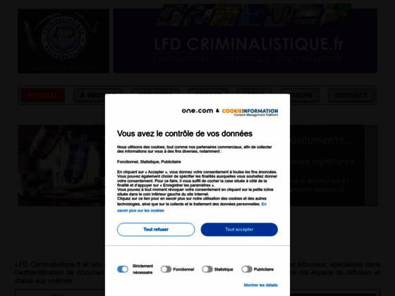 LFD Criminalistique