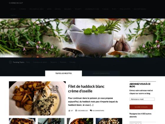 le classement des meilleurs blogs de cuisine