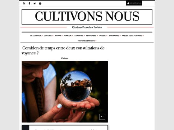 Détails : L'art d'apprendre grâce à CultivonsNous.fr