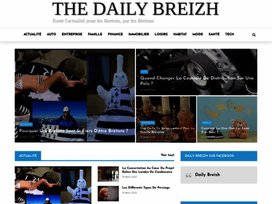 Détails : Toute l'actu de la Bretagne vue par les bretons
