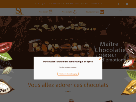 Photo image Daniel Stoffel Maître Chocolatier