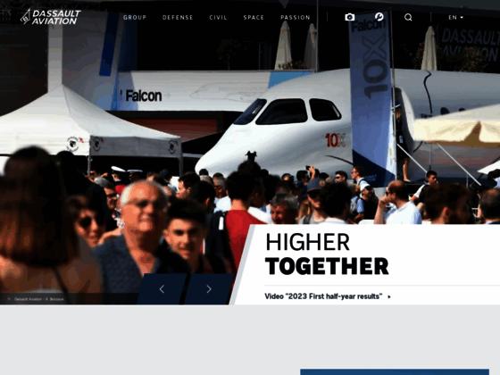 Photo image Dassault Aviation, acteur majeur de l'industrie aéronautique mondiale
