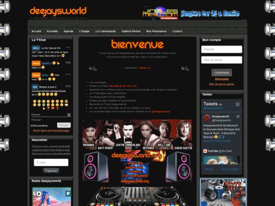 Détails : Le site de tous les DJ'S