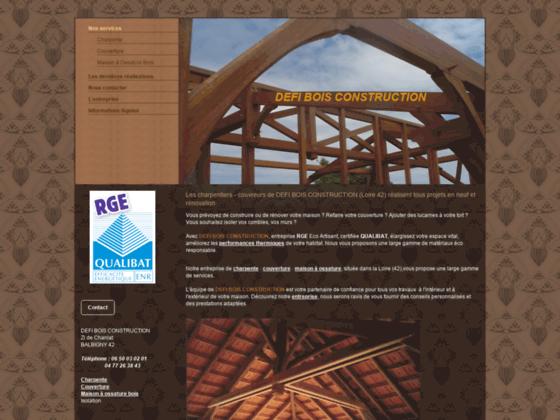 Photo image DEFI BOIS CONSTRUCTION