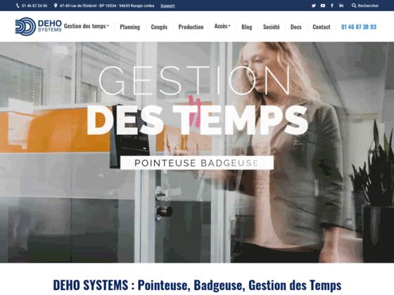 Détails : le site de dehosystems