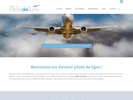 Photo image Devenir pilote de ligne