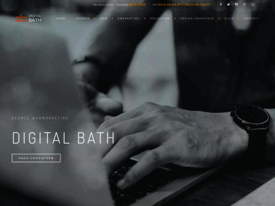 Détails : Agence webmarketing en Tunisie : Digital Bath