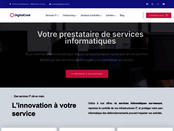 image du site https://www.digitalcook.fr