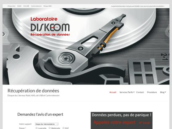 Détails : Diskeom - récupération de données