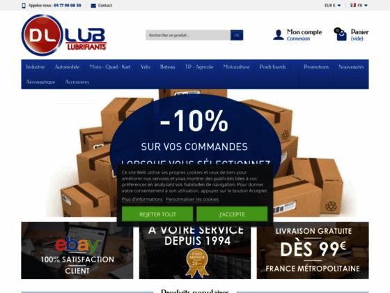 Détails : Vente produits pétroliers - Livraison Fuel 42 - Gasoil - DLlub SAS