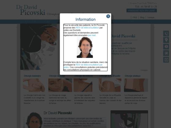 Photo image Chirurgie plastique, r�paratrice et esth�tique � Paris : Dr D. Picovski